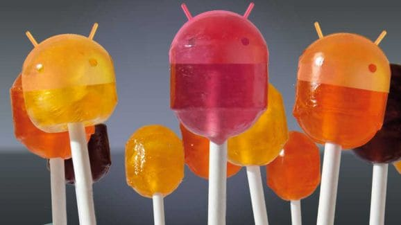 Android 5.0 Lollipop OS 1