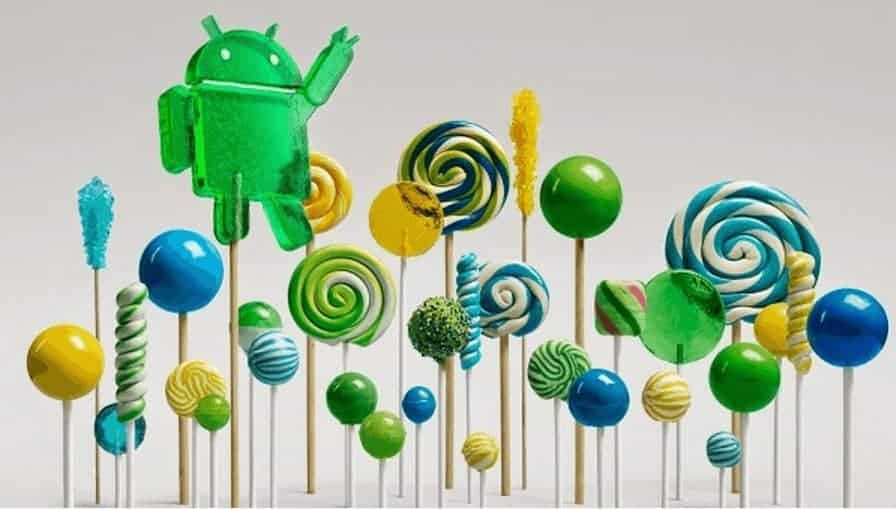 Android 5.0 Lollipop image 1