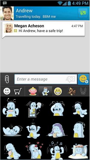 BBM Messenger 2.2.1.40 APK