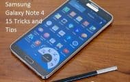 Note 4 tricks and tips
