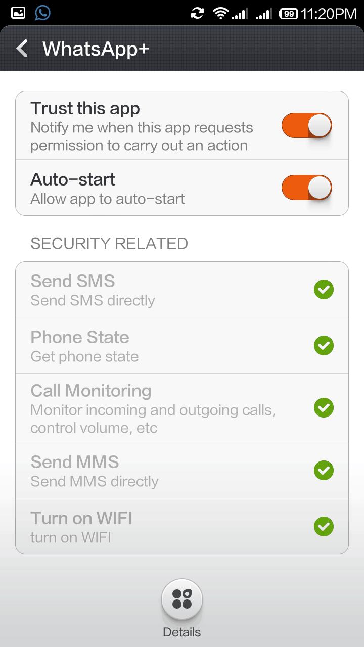 Xiaomi Redmi 1S Whatsapp 3