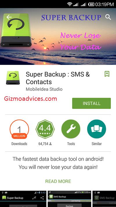 Super Backup app 1