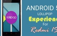 Mokee Android 5.0 Lollipop ROM for Xiaomi Redmi 1S
