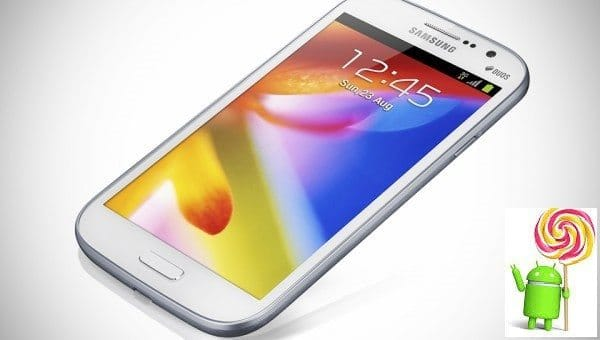 Samsung galaxy Grand Duos Android 5.0 Lollipop