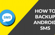 Backup SMS Messages on Android