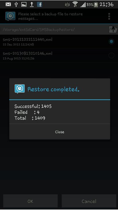 SMS Backup & Restore 3