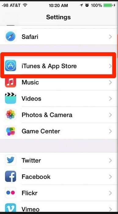 iOS 8: How to Change the Apple ID in App Store