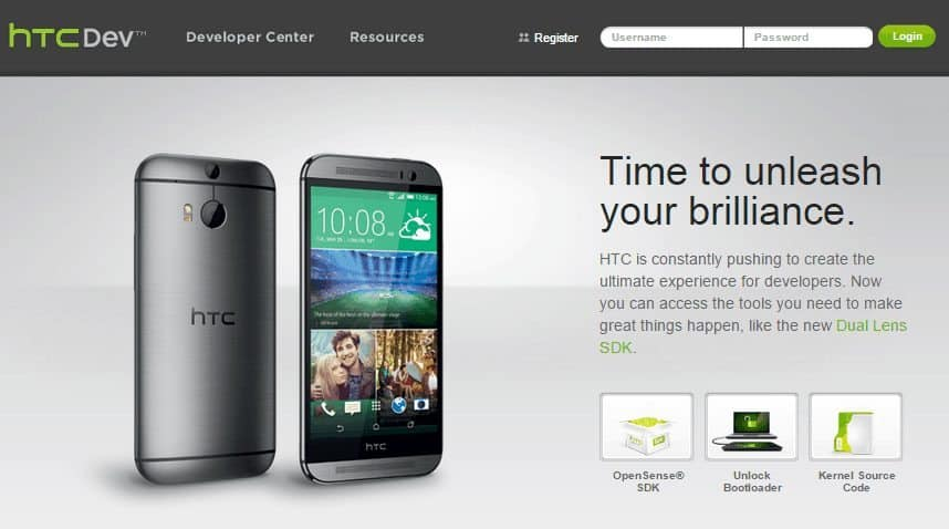 Unlock Bootloader on HTC Device