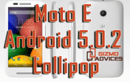 Update Moto E to Android 5.0.2 Lollipop official firmware