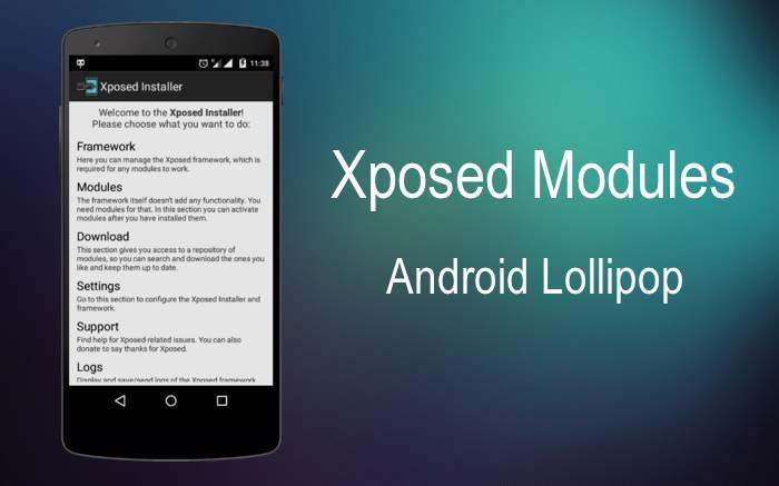 Xposed Android 5.1 modules