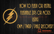 Install Zips and Mods using CWM / TWRP / PhilZ Recovery