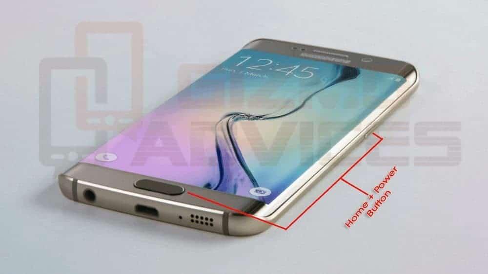 Take screenshot on Galaxy S6 and Galaxy S6 Edge