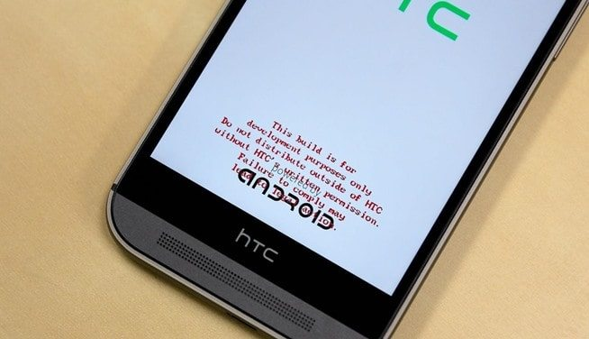 How to Remove Red text from Sprint HTC One M9