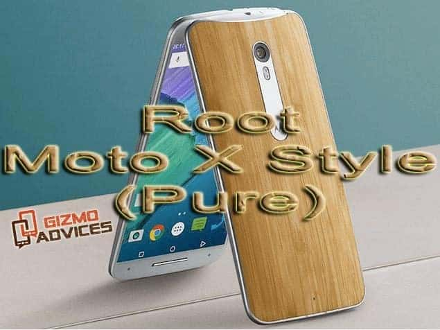 Install TWRP Recovery and Root Moto X Style / Pure Edition XT1575