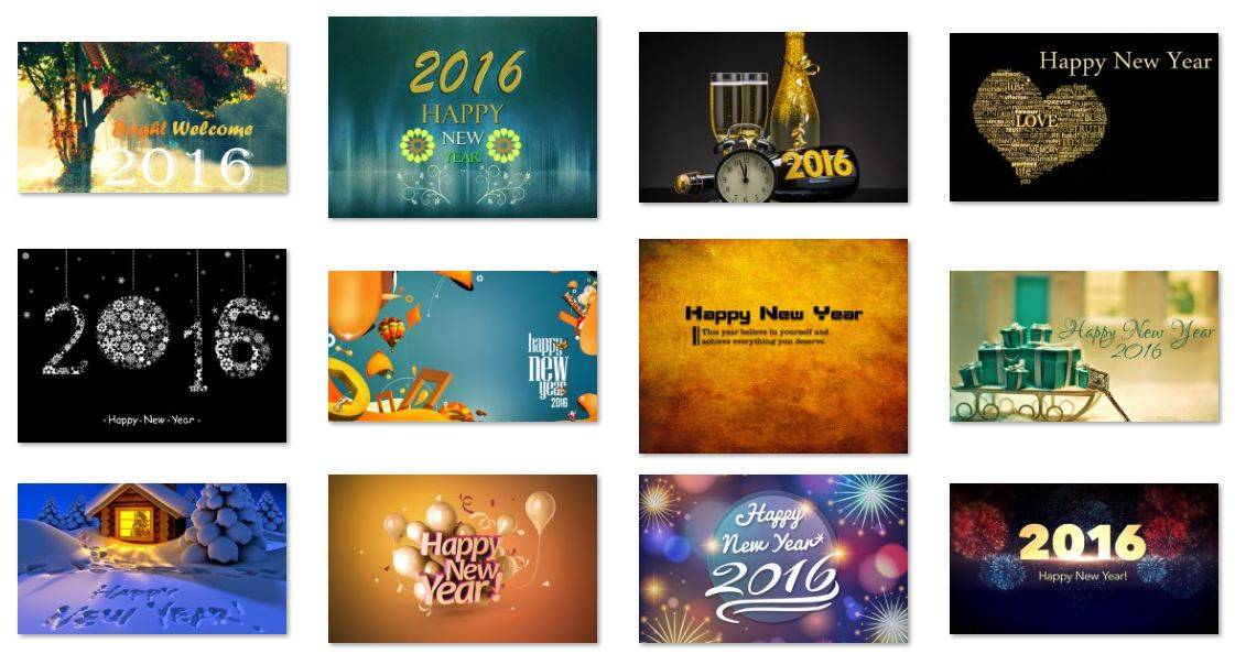 40 Best Happy New Year 2016 Wallpapers