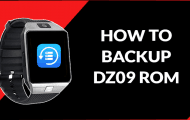 [How To] Create Read Back ROM Dump / ROM Backup of DZ09 Smartwatch Phone
