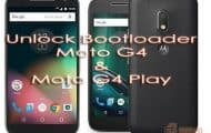 Unlock Bootloader on Moto G4 Play and Moto G4 2016