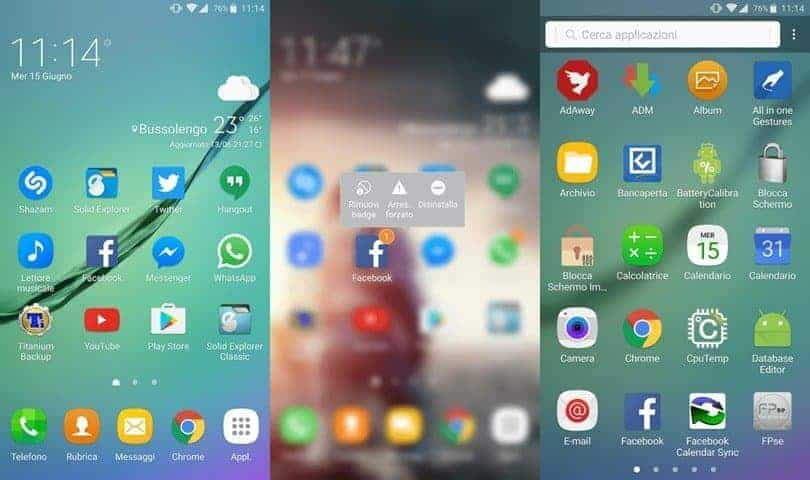 Galaxy Note 7 Launcher
