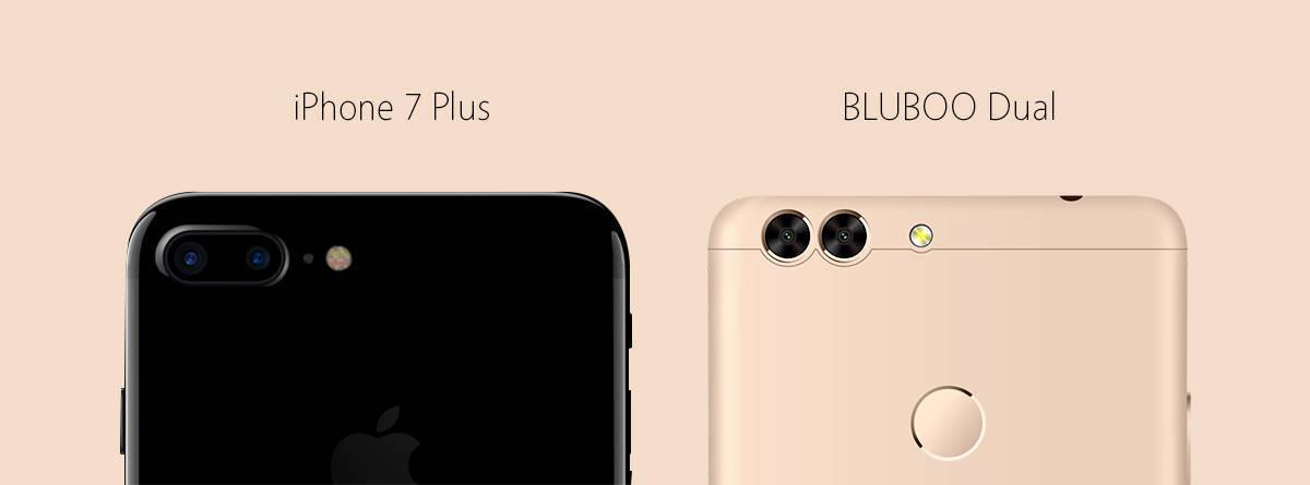 Bluboo Dual Gets Dual Camera Design Like iPhone 7 Plus