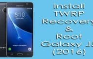 Install TWRP Recovery and Root Galaxy J5 2016