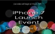 How to Watch iPhone 7 Launch Event Live Streaming
