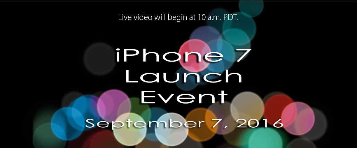 Watch iPhone 7 Launch Event Live Streaming
