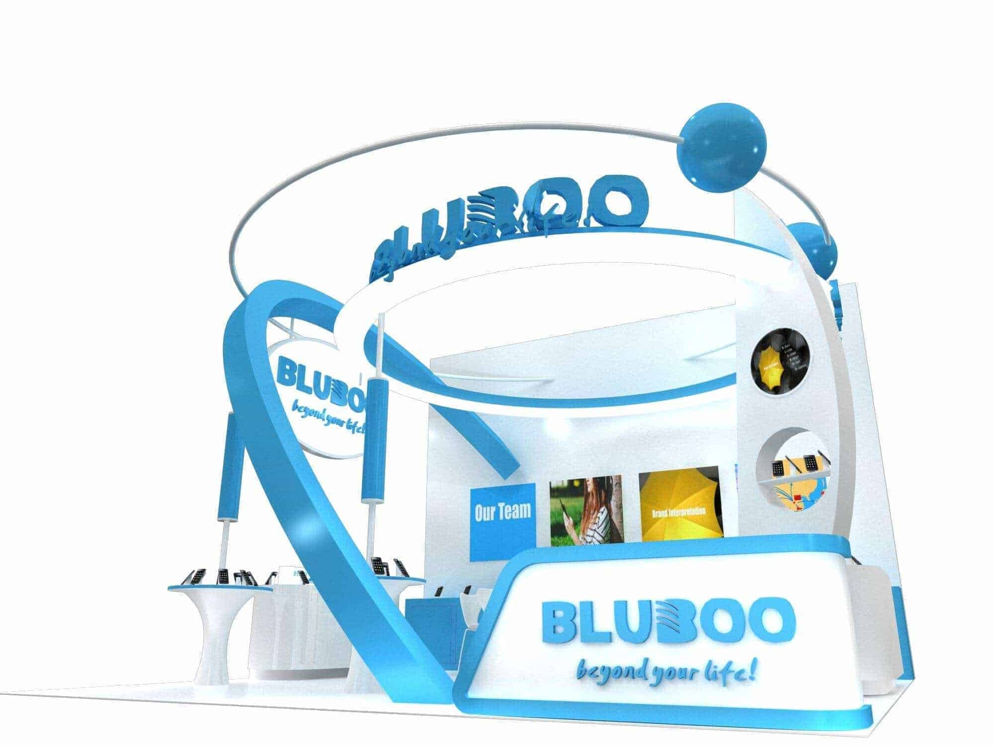 Bluboo Stand at HK Global Sources Mobile Electronics Exhibition