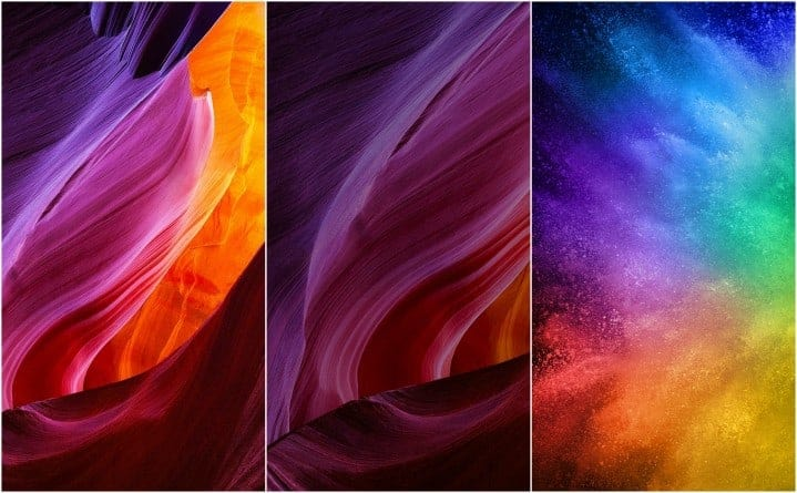 Download Xiaomi Mi Mix & Mi Note 2 Stock Wallpapers