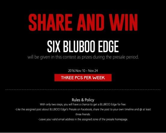 Bluboo Offers 5.5 Inch OGS Five Point Multi-Touch Display