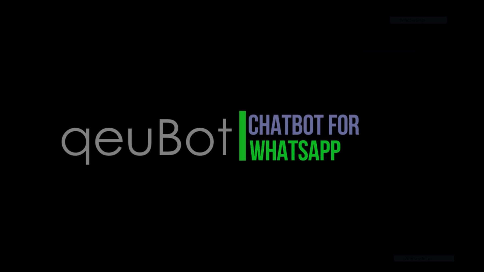 qeuBot - WhatsApp Chatbot
