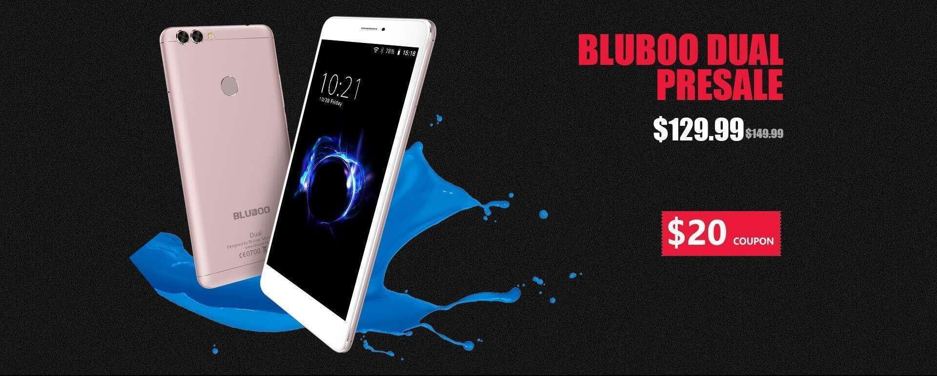 Bluboo Dual Global Presales