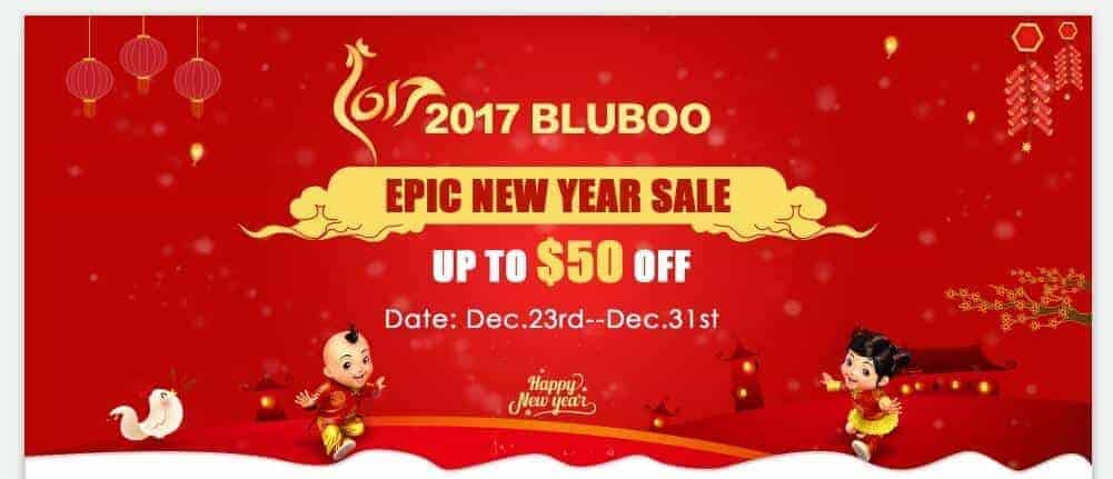 Bluboo New Year Sales event
