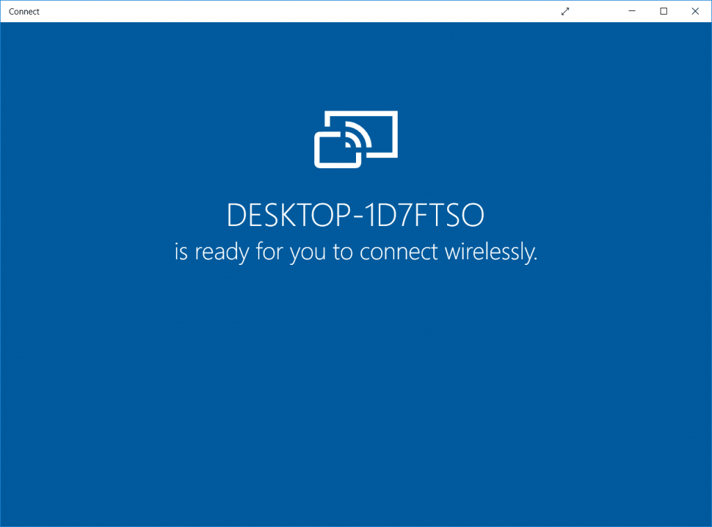 Use Windows 10 PC as a Second Display/Monitor
