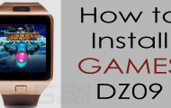 How to Install Games on DZ09 Smartwatch