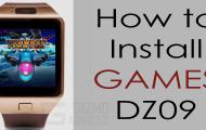 Install Games on DZ09 Smartwatch