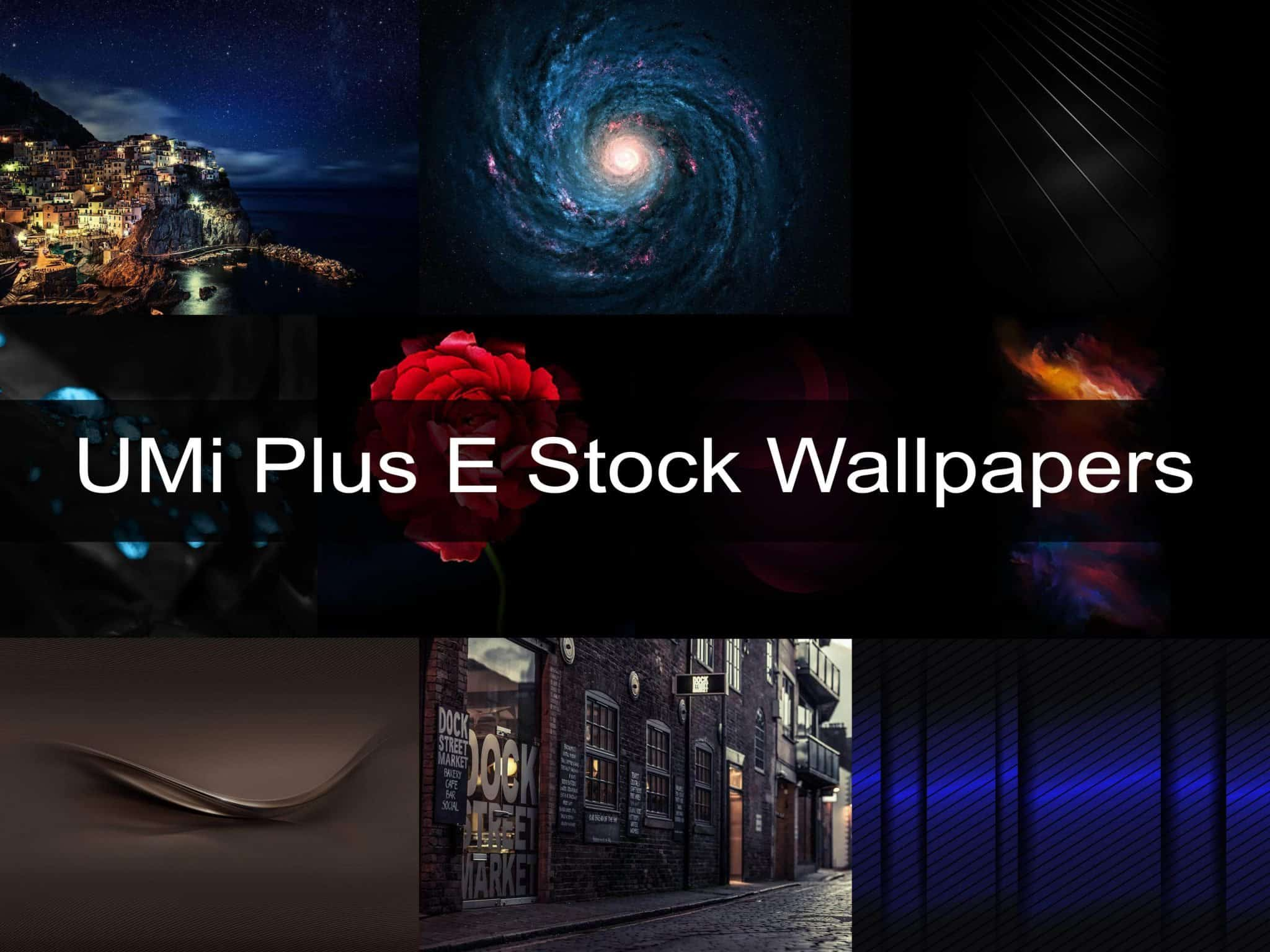 UMi Plus E Stock Wallpapers