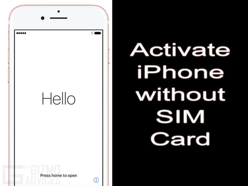 How To Activate Your Iphone S Without A Sim Card