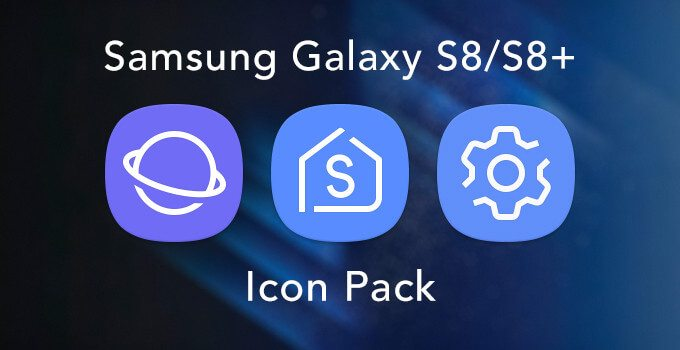 Samsung Galaxy S8 Icon Pack