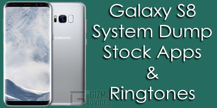Samsung Galaxy S8 System Dump, Stock Apps & Ringtones
