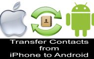 How to Transfer iPhone Contacts to Android (5 METHODS)