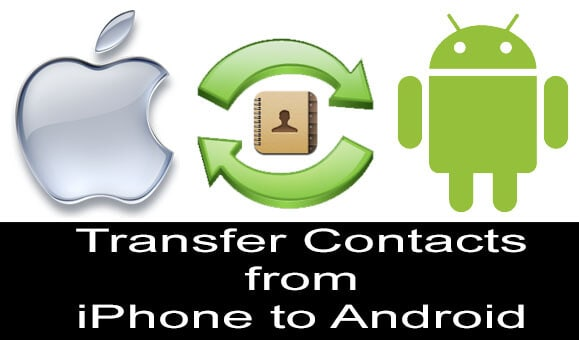 Transfer iPhone Contacts to Android