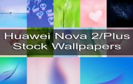 Huawei Nova 2 Plus and Nova 2 Stock Wallpapers