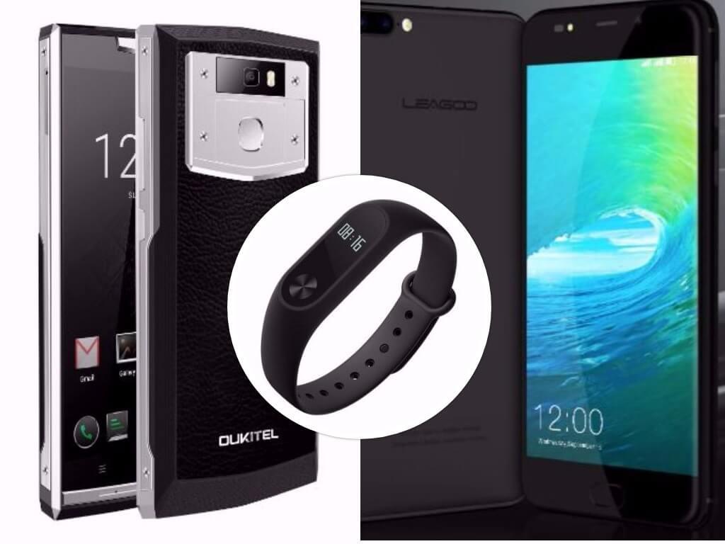 GearBest Deals: Xiaomi Mi Band 2, Leagoo M7 & OUKITEL K10000 Pro on Sale