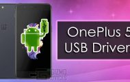 Download OnePlus 5 USB Drivers [Windows & Mac]