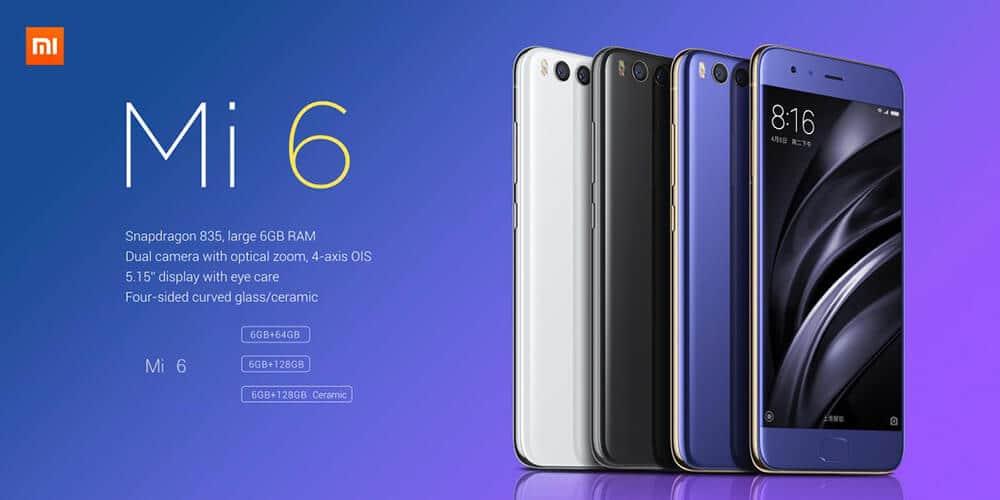 GearBest Deal Xiaomi Mi 6 $399.99