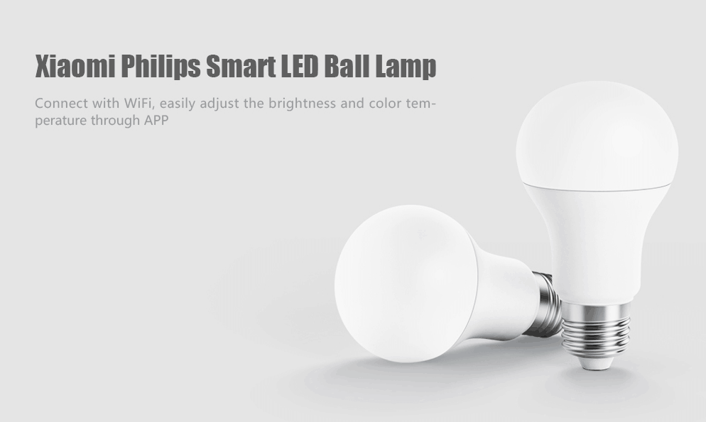 GearBest Deal Xiaomi Philips Smart LED Ball Lamp