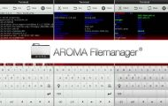 Download AROMA File Manager (Recovery File Manager)