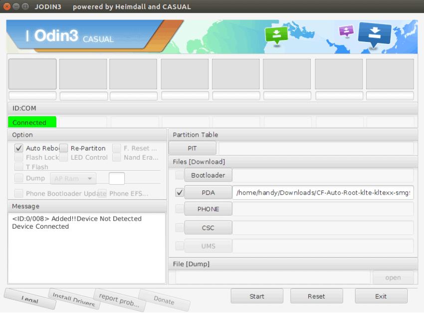 Odin for Linux - JOdin3