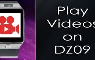 How to Play Videos & Movies on DZ09 Smartwatch Phone