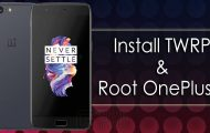 How to Install Official TWRP Recovery and Root OnePlus 5